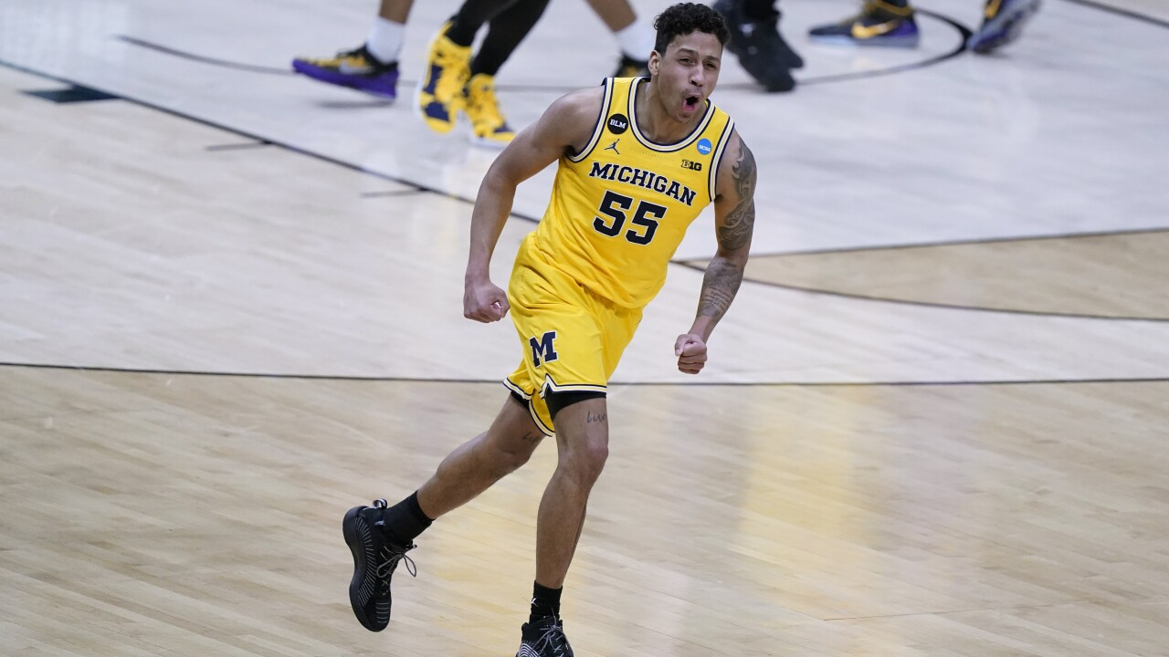Eli Brooks NCAA LSU Michigan Basketball
