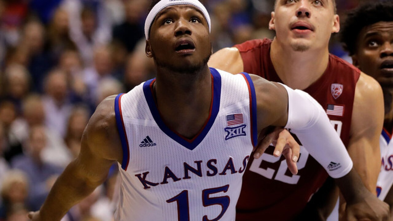 KU's Carlton Bragg to suit up for K-State game, suspension lifted