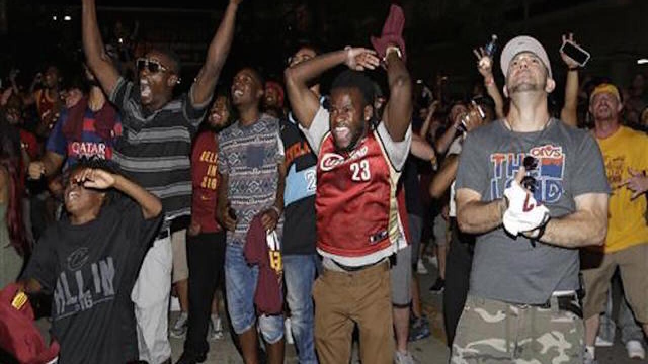 Cleveland rocks as title drought ends in NBA Finals