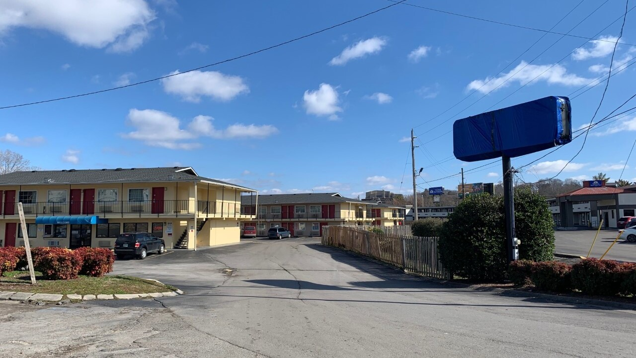 Motel for the homeless