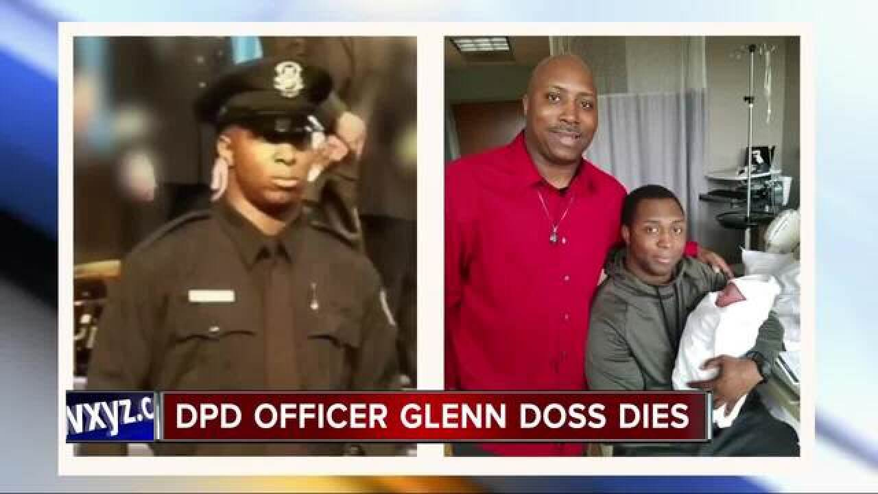 Detroit police officer dies from injuries