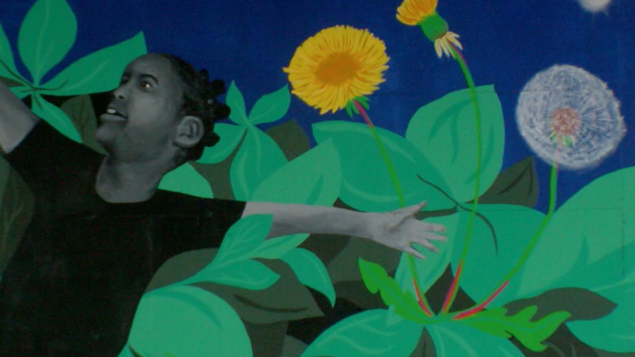 Bloom Mural East Bakersfield