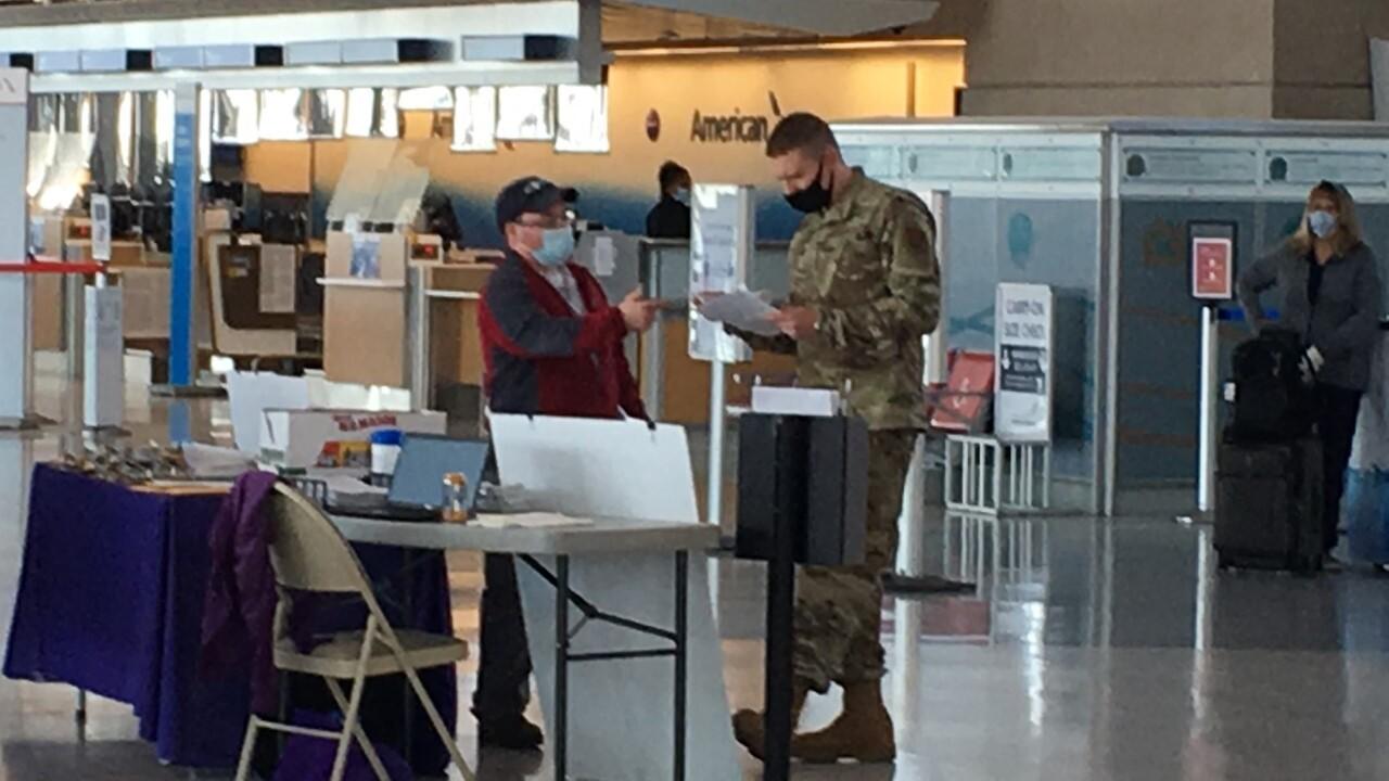 National Guard at Buffalo Niagara International Airport