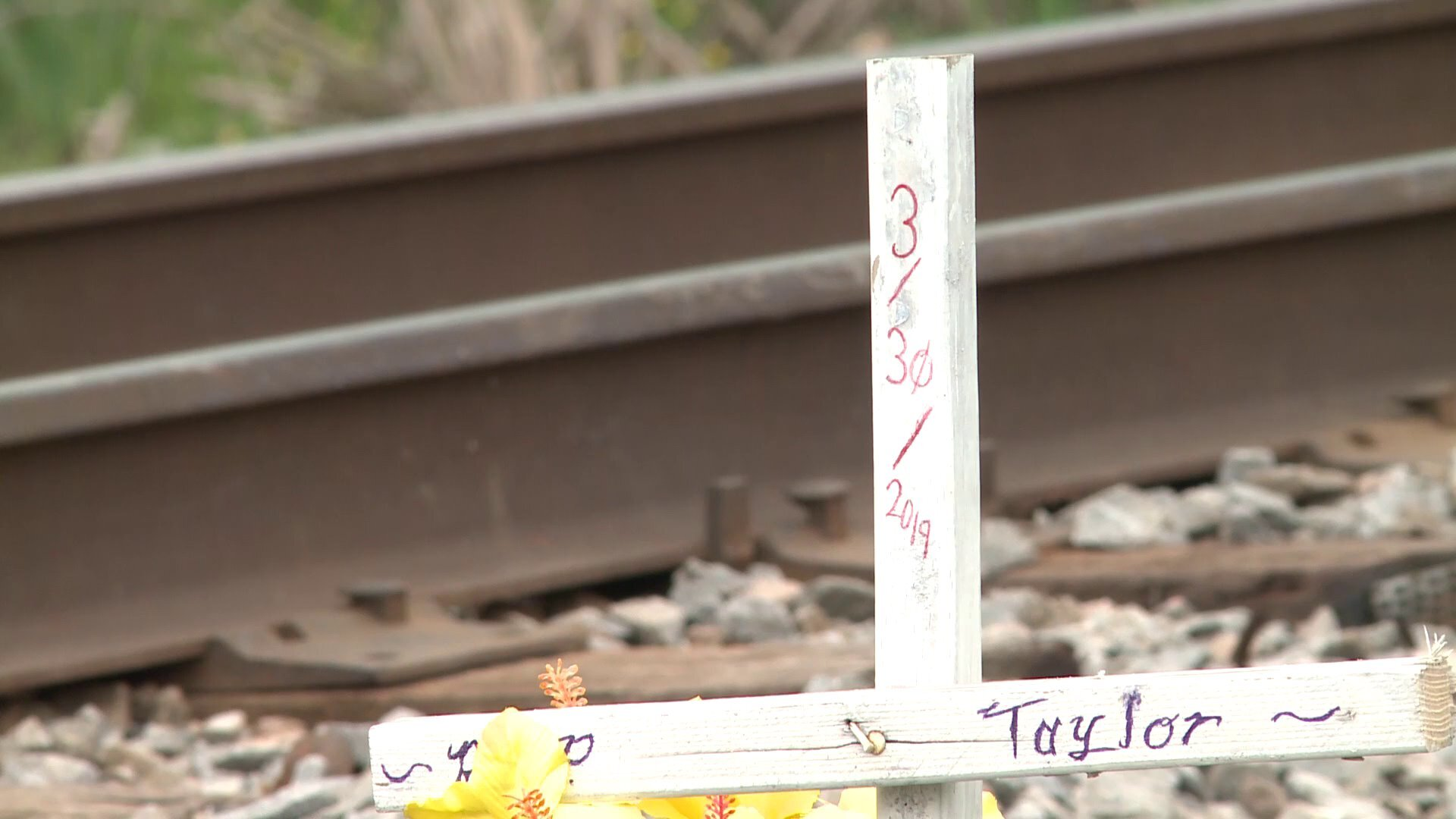 Photos: Family of woman who died in Chesapeake train crash takes action to make railroad crossing safer