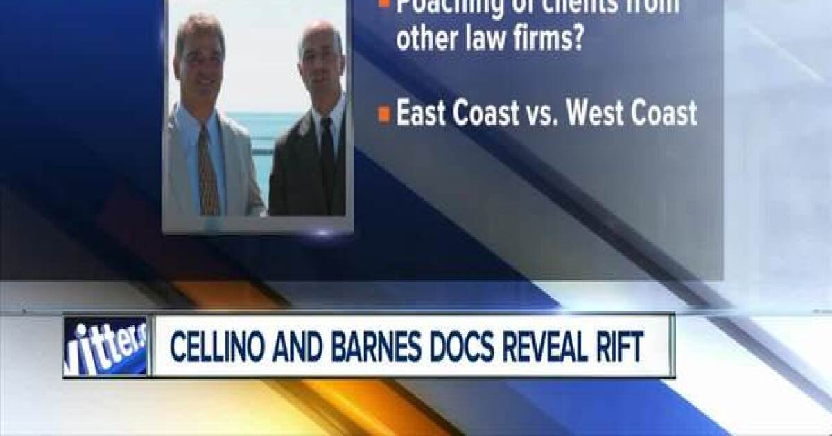 Cellino and Barnes court documents reveal