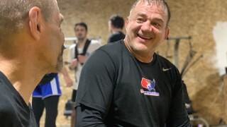 Jeff Anderson wrestling