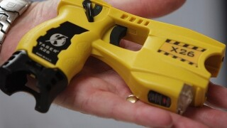 Police use Taser on 87-year-old woman cutting dandelions with a knife