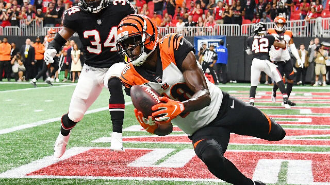 Bengals pull out last-minute win over Falcons