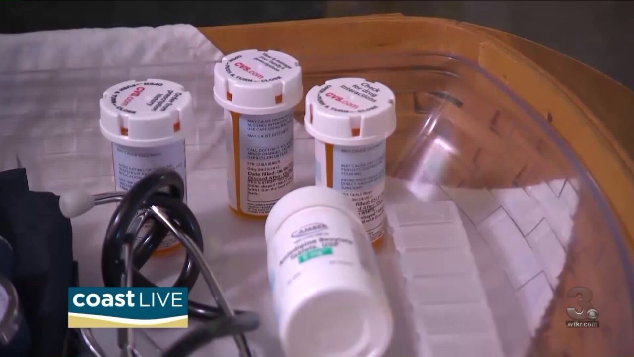 Learning about the dangers of ditching your medication on Coast Live