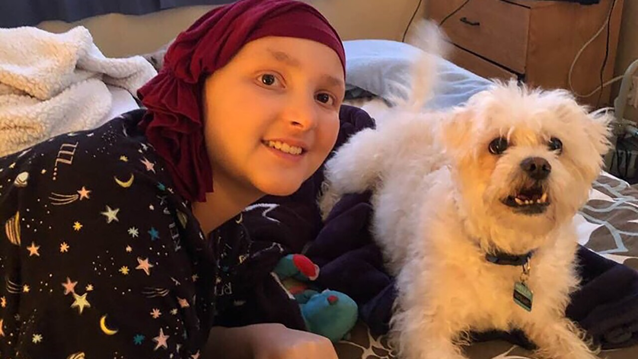 This 14-year-old beat stage 4 cancer, just in time to make it home for Christmas