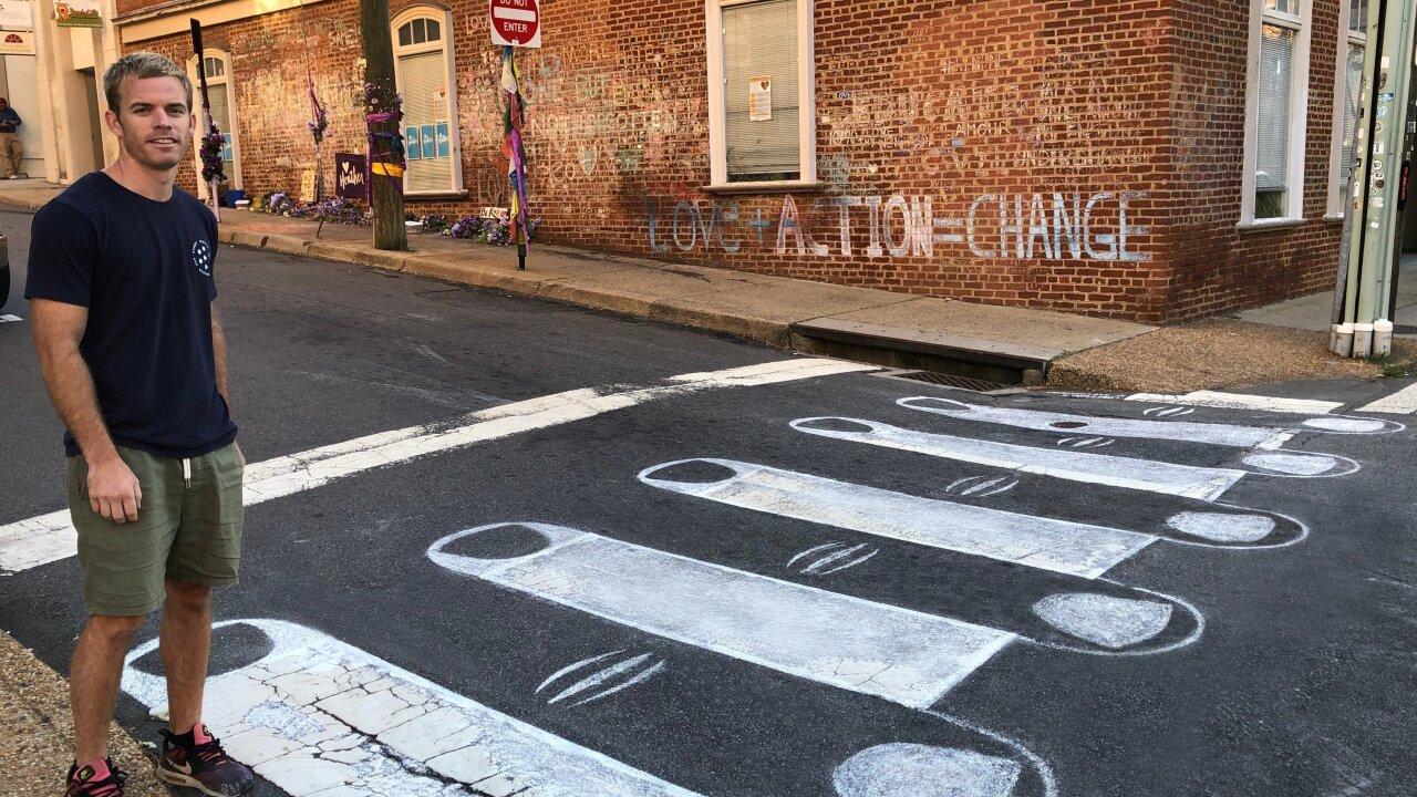 How artist transformed Charlottesville intersection where Heather Heyer waskilled