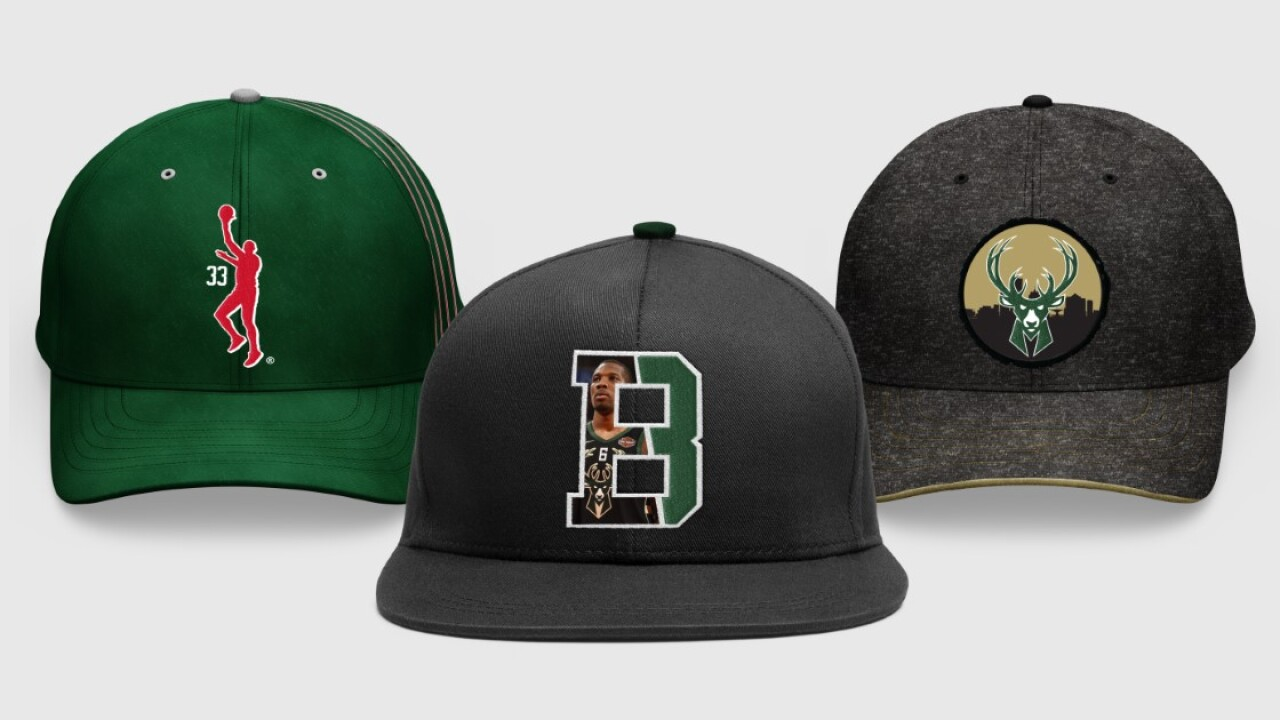 Bucks unveil new custom hat designs by Kareem Abdul-Jabbar and more