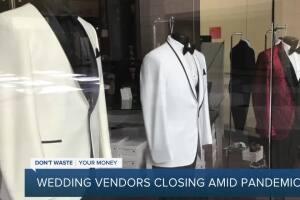 Wedding vendors closing amid pandemic