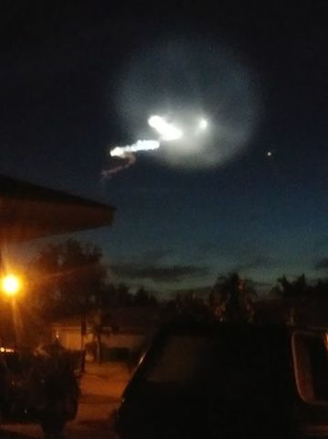 Photos: What's in the sky? Rocket launch lights up Southwest Florida morning