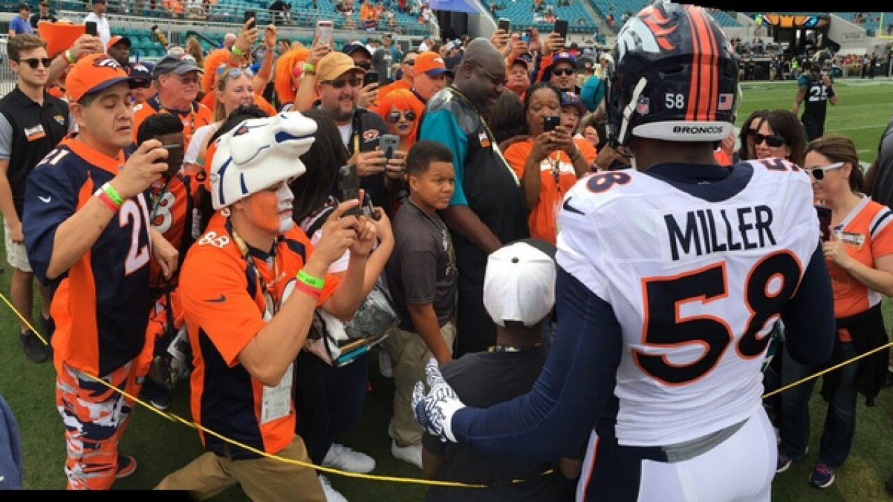 Broncos linebacker Von Miller makes pitch for free agent Kirk Cousins