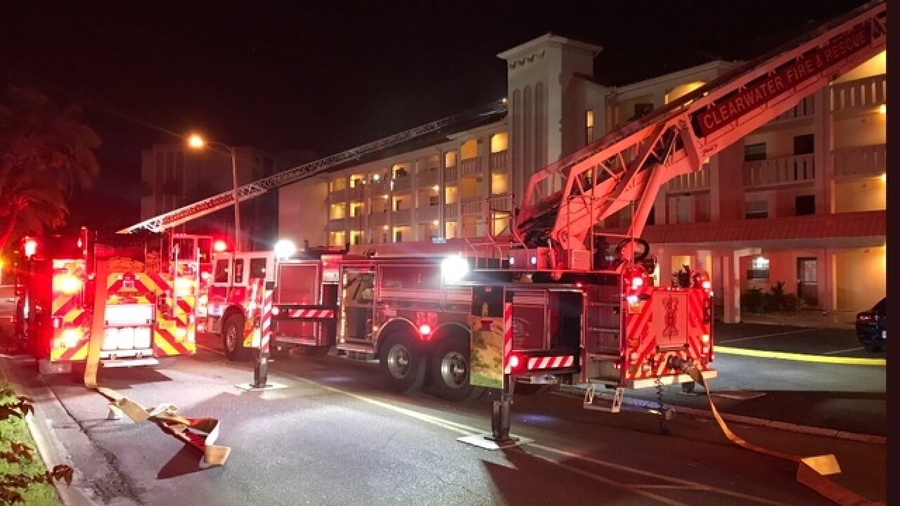 3-alarm condo fire displace 18 residents