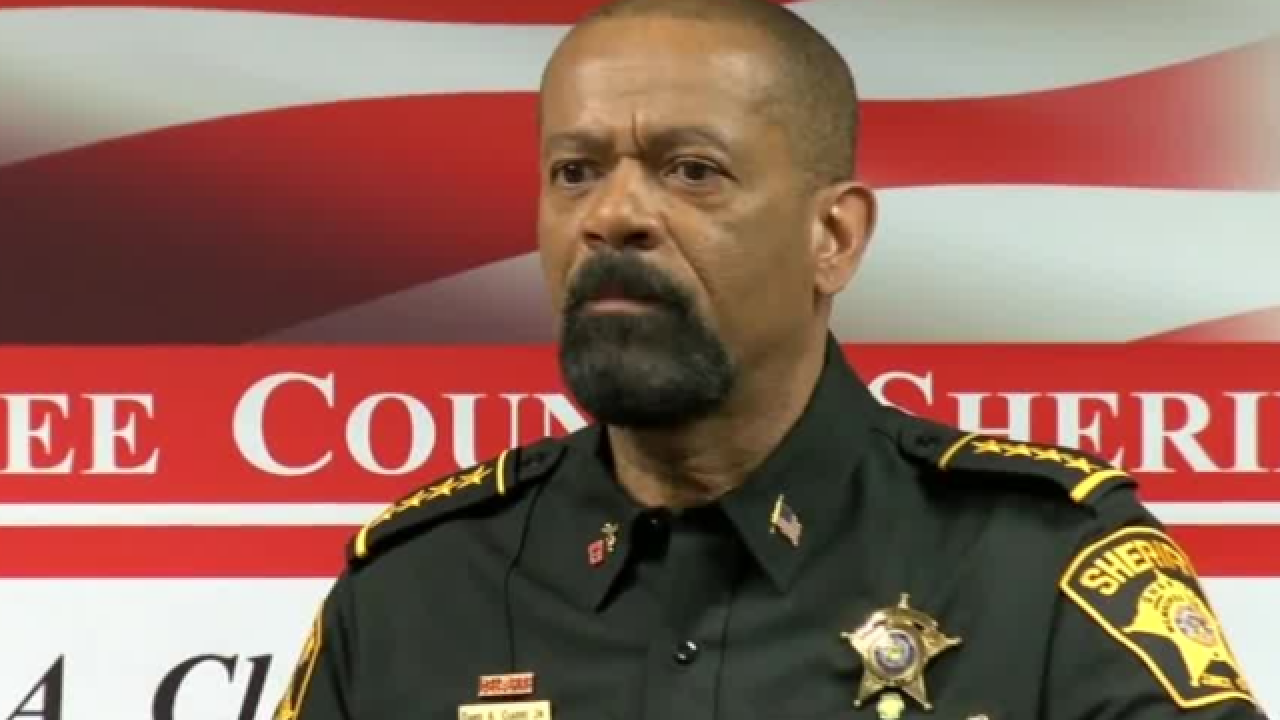 David Clarke aims homophobic tweet at Joe Biden