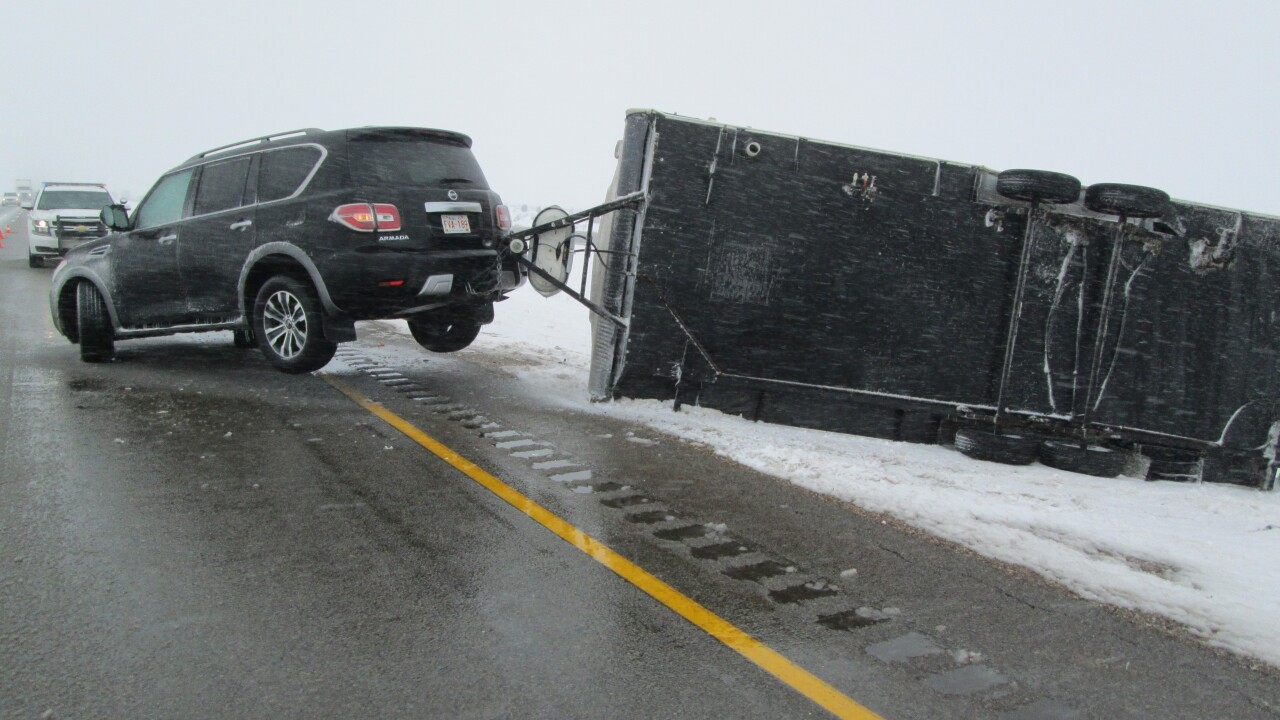 Over 200 highway crashes reported as winter storm slams Northern Utah