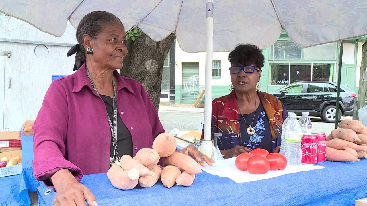 Octogenarian sisters end run at 17th Street Farmers Market