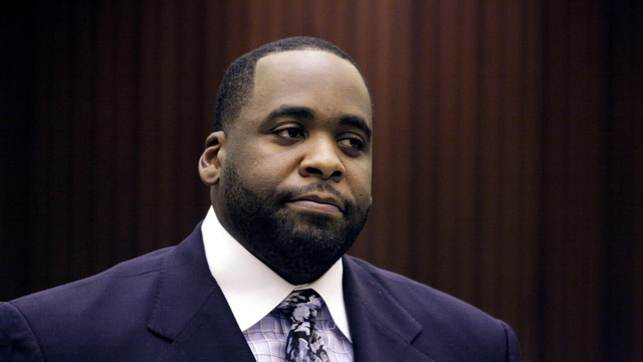 Kwame Kilpatrick moves to low-security federal prison in New Jersey