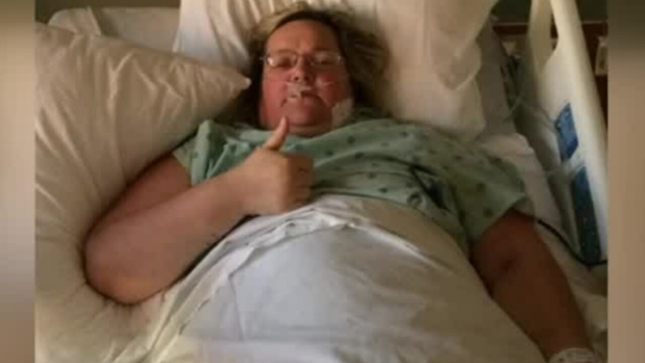 WI woman finds 30 lbs of tumors in her stomach
