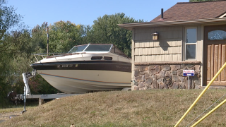 Myers Lake boats