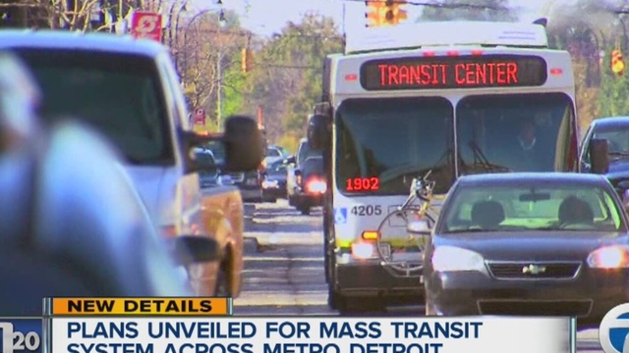 Voters to be asked to back mass transit tax