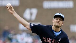 Trevor_Bauer_Cleveland Indians v Detroit Tigers