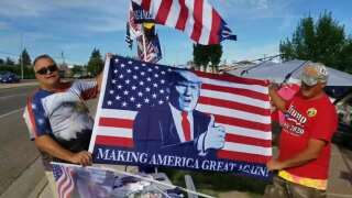 Vendor hopes for a Trump rally of his own