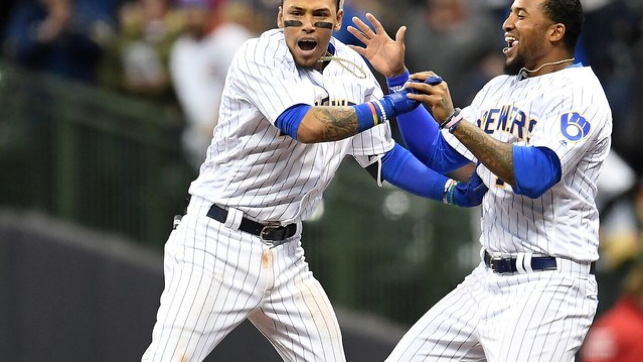 Arcia's game-ending single lifts Brewers over Cubs 5-4