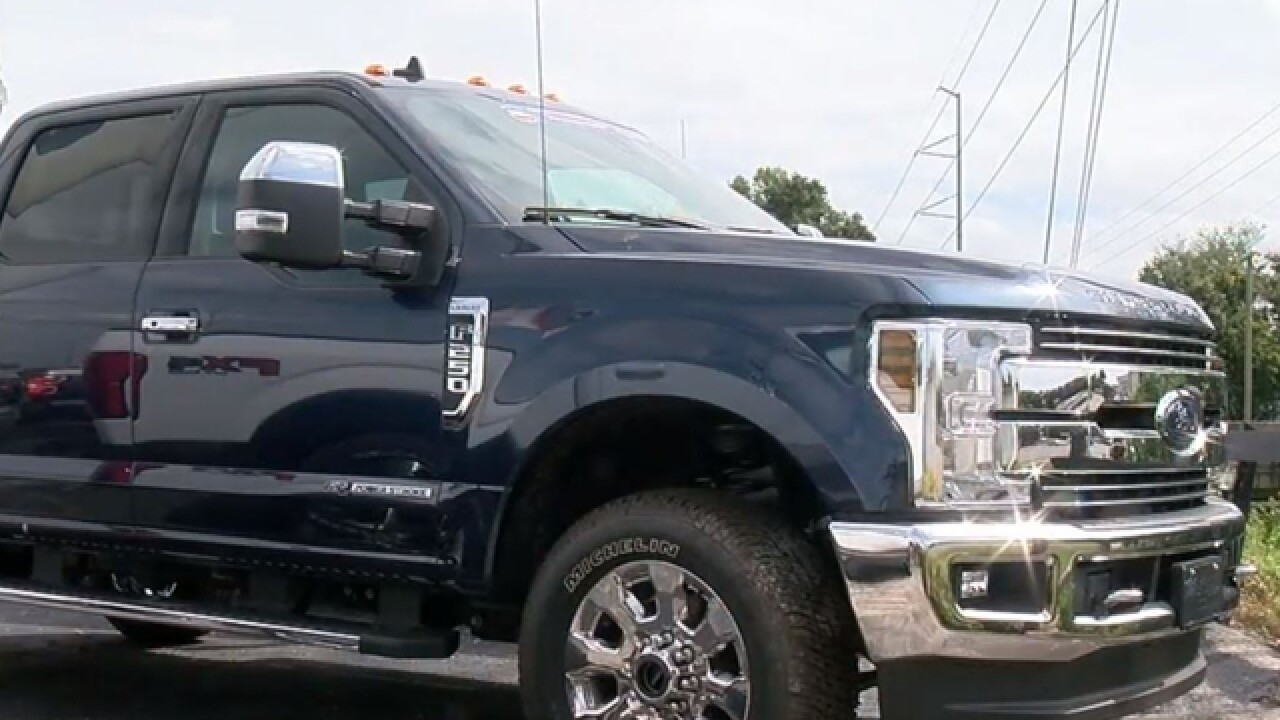 Thefts of pick-up trucks on the rise