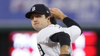 Casey Mize Royals Tigers Baseball