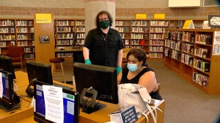 Buffalo and Erie County Public Library System quarantining books for four days