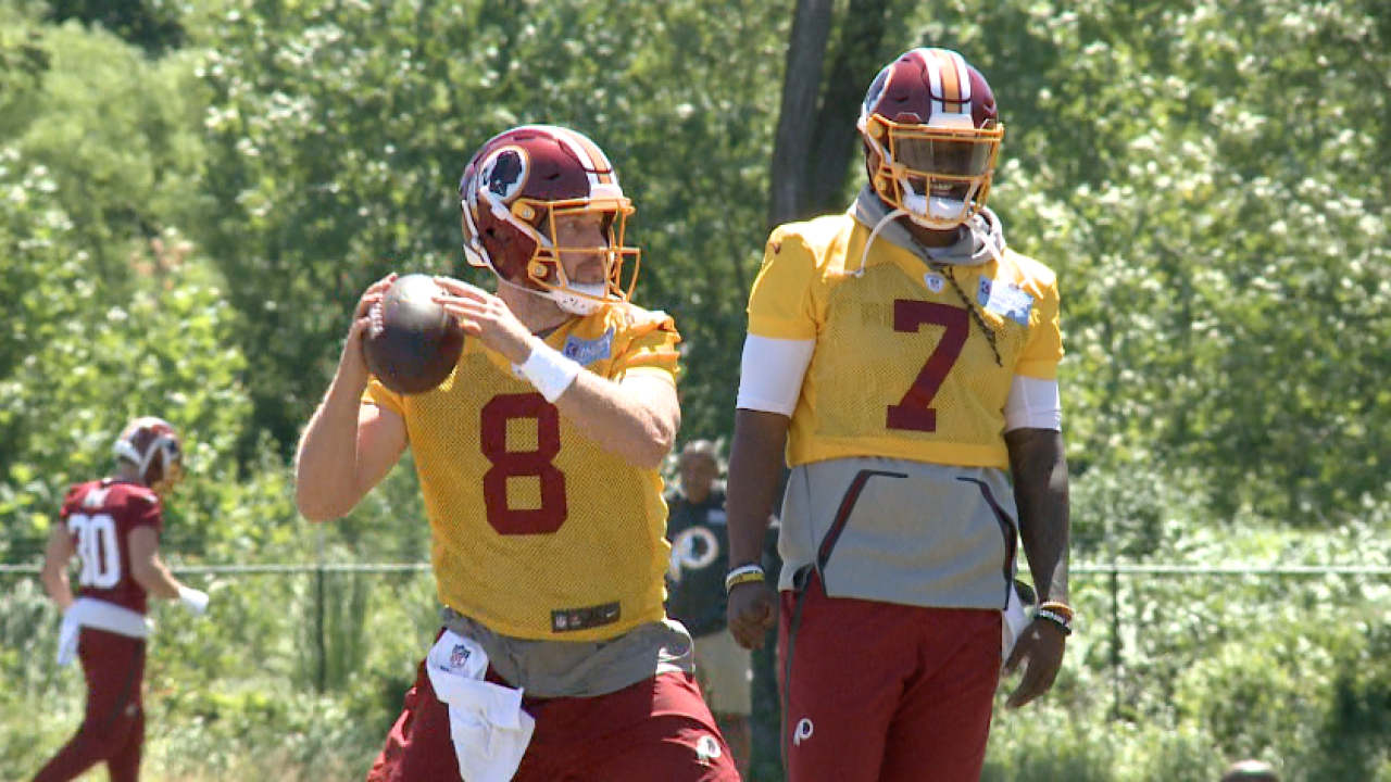 Redskins Report: On assignment at Day 8 of Organized TeamActivity