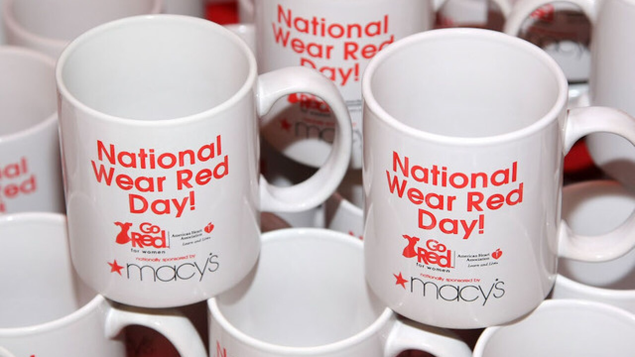 Go Red for Women on National Wear Red Day