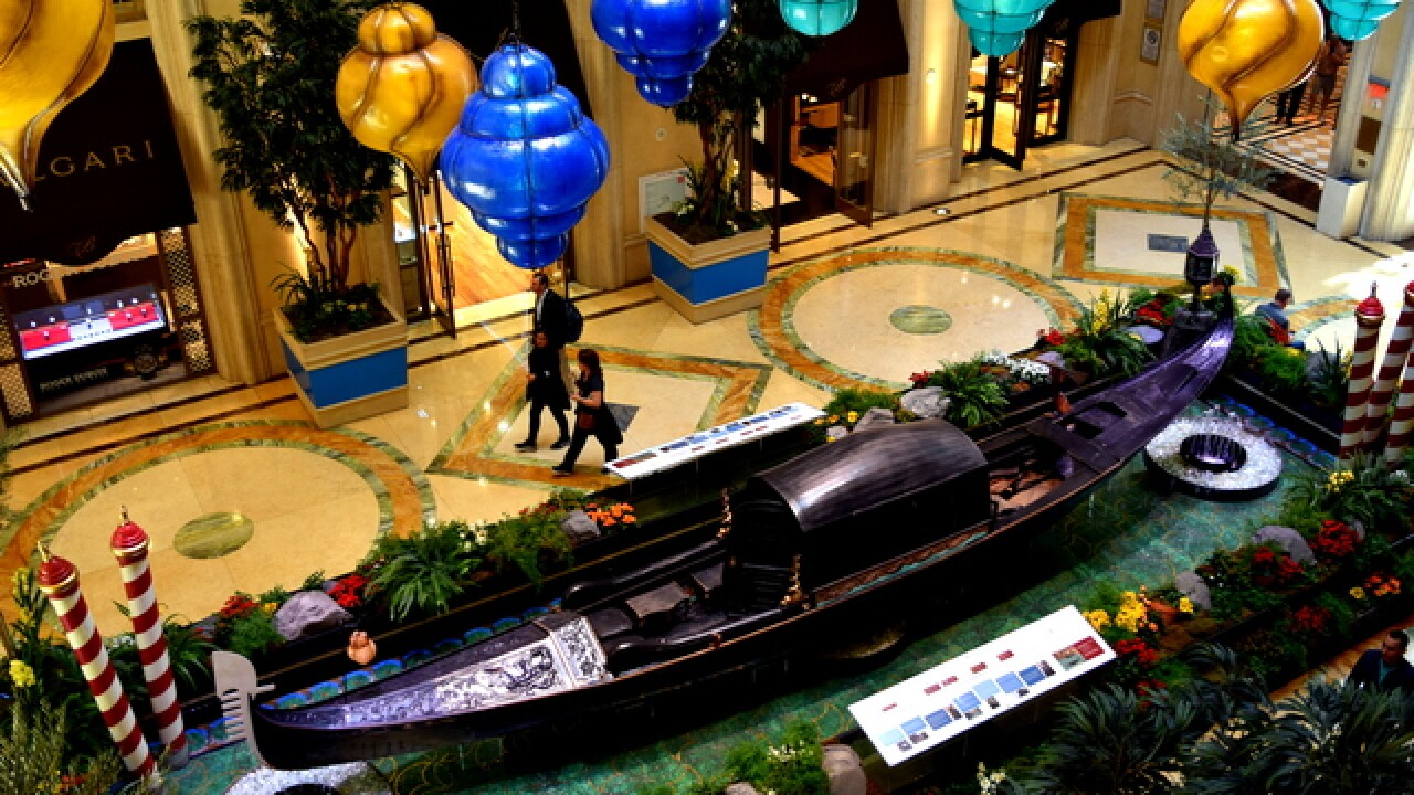 One of world's oldest gondolas on display in Las Vegas