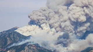 Bridger Foothills Fire estimated at 11,000 acres as of Saturday night