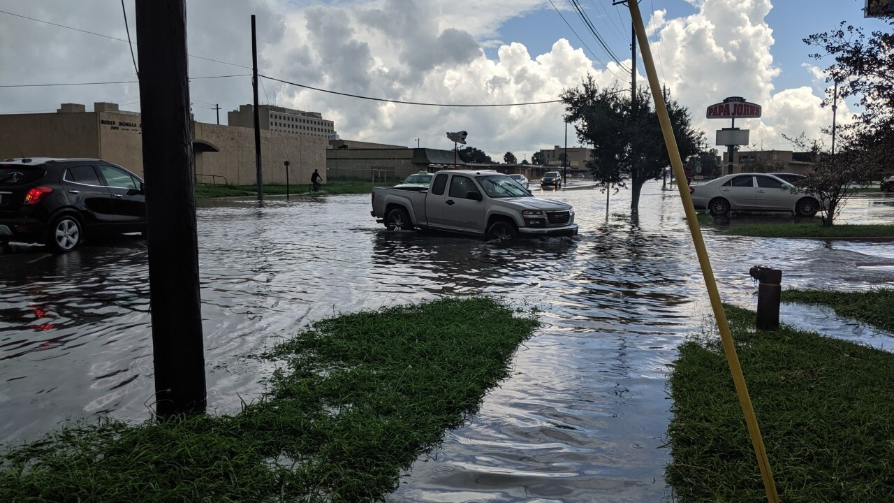 Rainstorm soaks Coastal Bend as NWS issues flood advisory