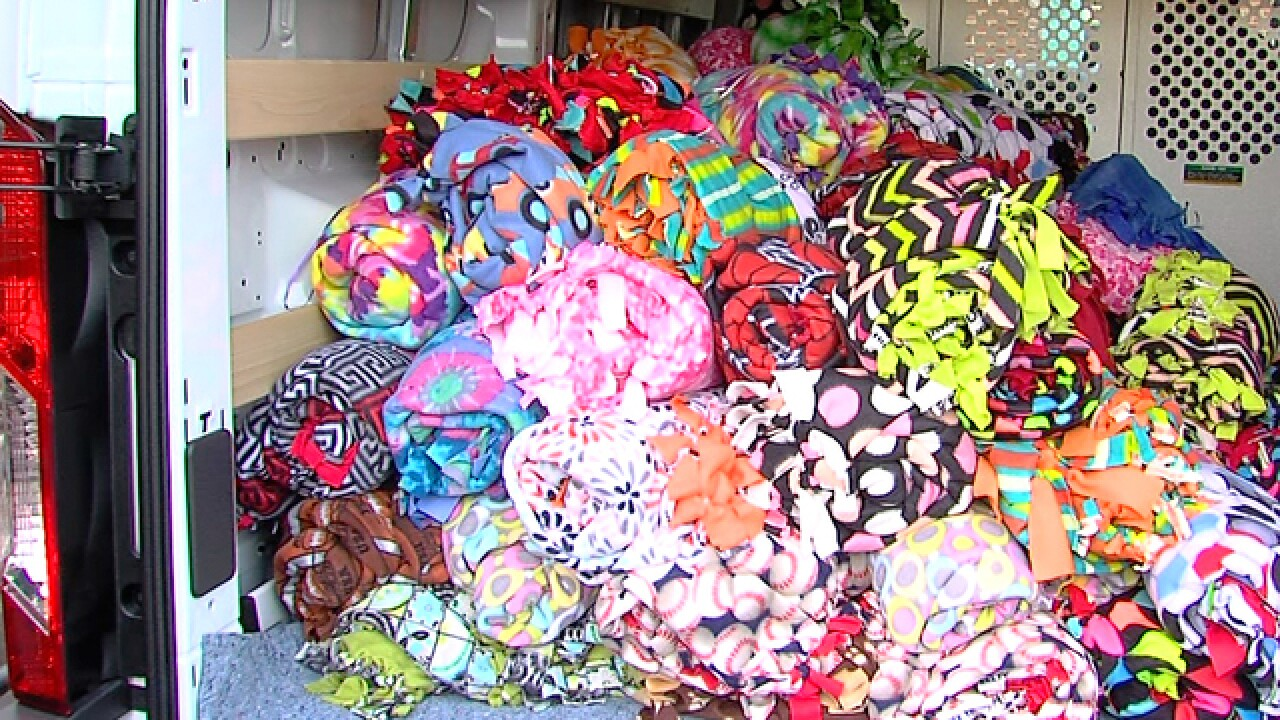 10,000 blanket relief drive in Southfield