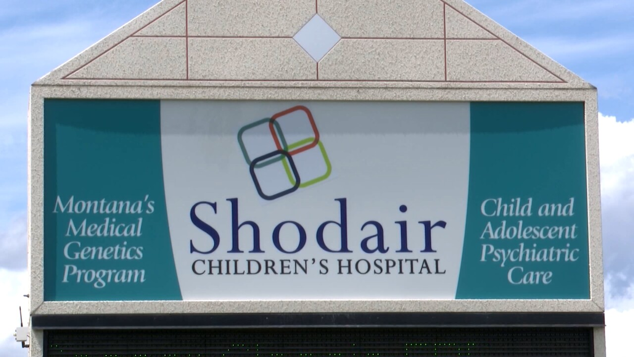 Shodair Children's Hospital opening mental-health clinics for kids in Missoula, Butte