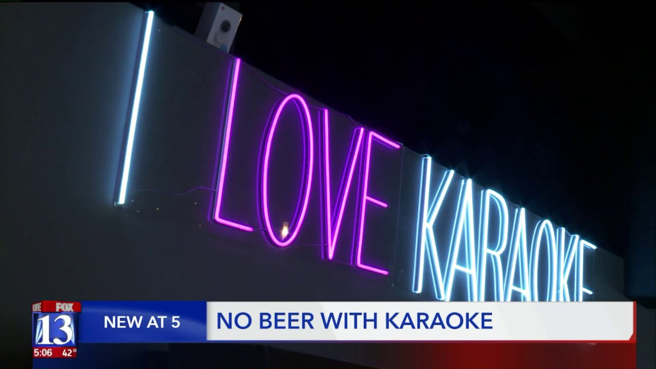 No beer with karaoke in Utah, alcohol control authority declares