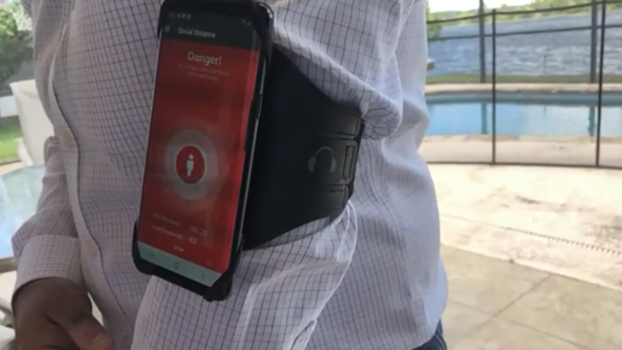 Social Safety app developed to help keep employees at safe distances