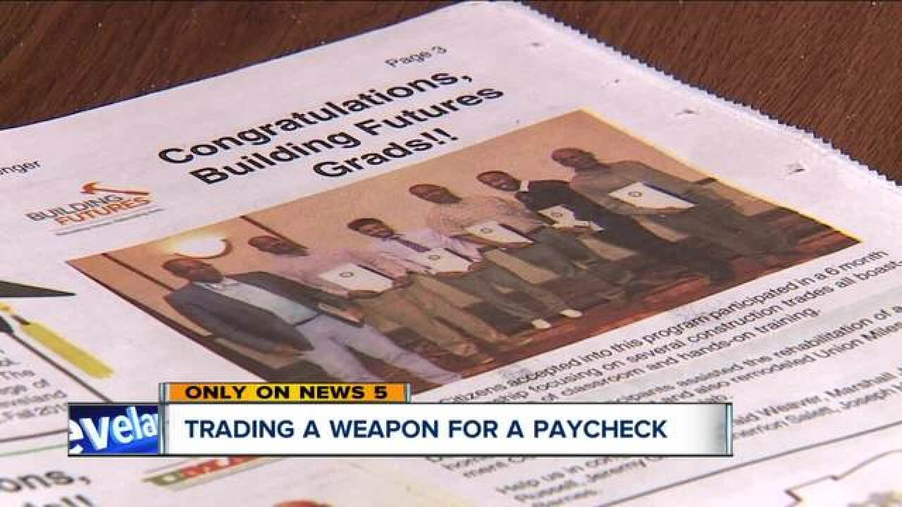 Program lets you trade a gun for a job training