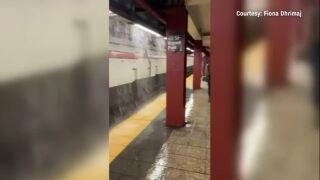 New York Subway flooding