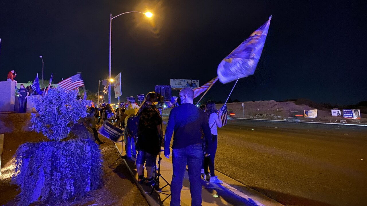 Ballot protest Nov 5 Las Vegas 1.JPG