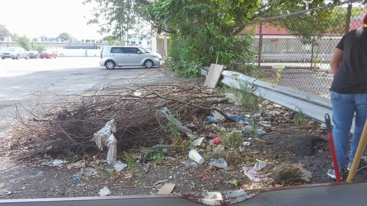 Community complains of mess in Family Dollar lot