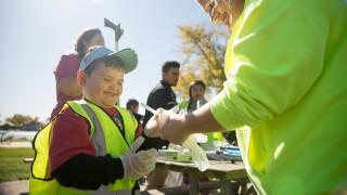 Keep Omaha Beautiful Litter Cleanup