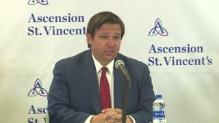 Gov. Ron DeSantis provides coronavirus update in Jacksonville, May 15, 2020