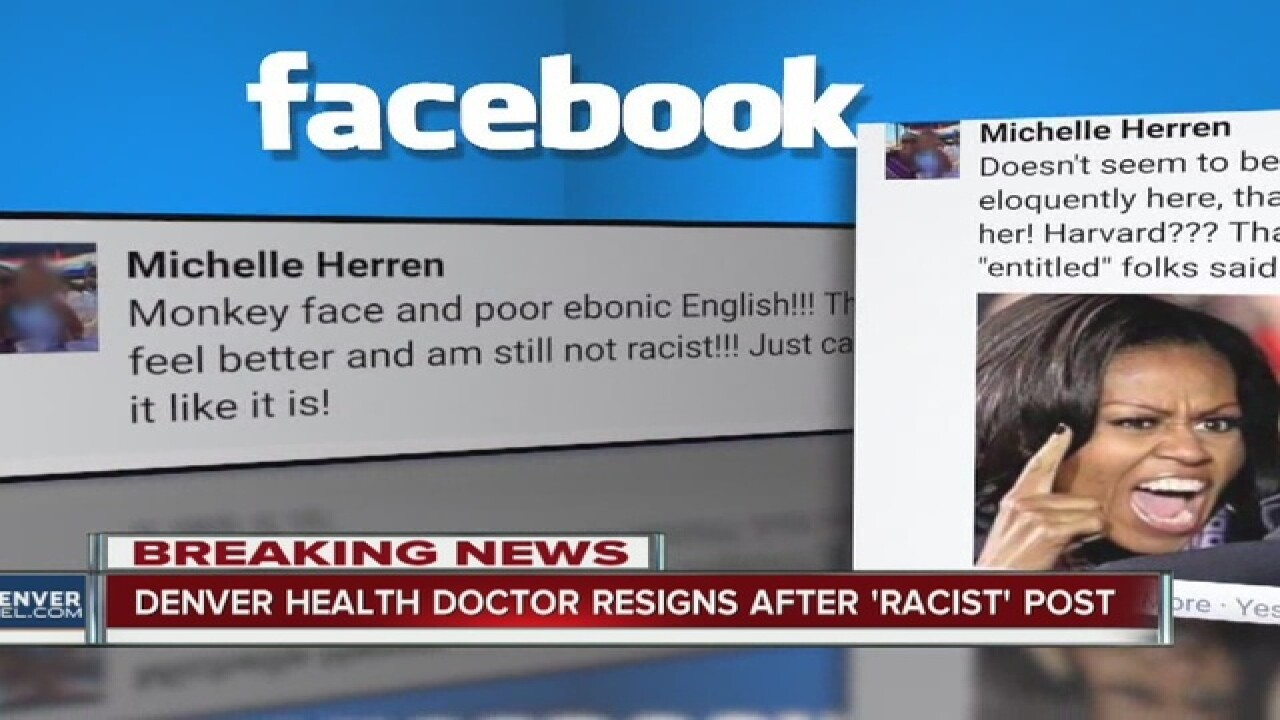 Doctor 'sorry' for racist 'monkey' Facebook post