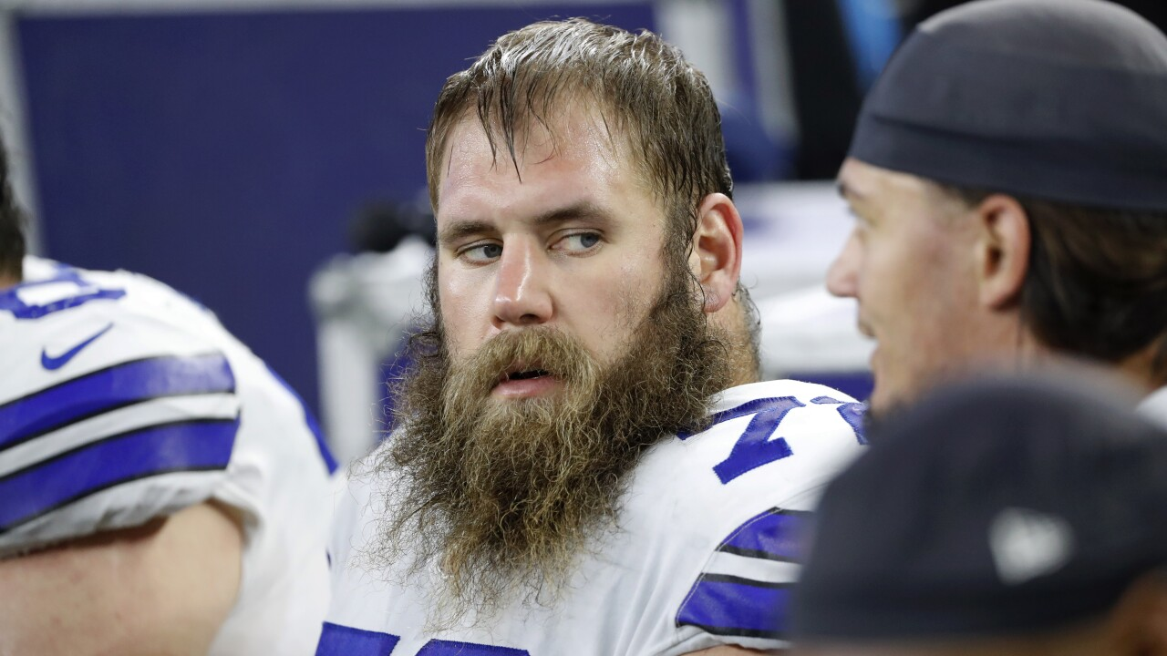 Cowboys C Travis Frederick has announced his retirement